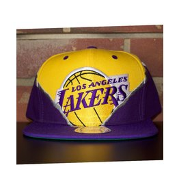 Mitchell & Ness LOS ANGELES LAKERS SHREDDER HIGH CROWN SNAPBACK