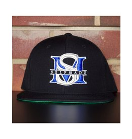 SELFMADE BLACK & ROYAL BLUE & SILVER SELF MADE BOUTIQUE SNAPBACK