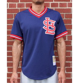 Mitchell & Ness ST LOUIS CARDINALS OZZIE SMITH 1994 AUTHENTIC MESH BP JERSEY