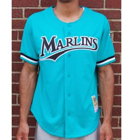 Mitchell &amp; Ness Andre Dawson<br /> 1995 Authentic Mesh BP Jersey<br /> Florida Marlins