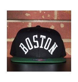 Mitchell & Ness BOSTON CELTICS WORDMARK 110 FLEX SNAPBACK