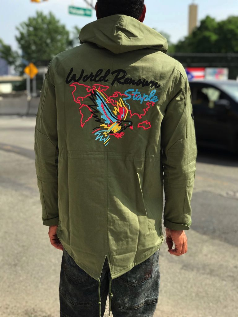 STAPLE ELECTRIC PIGEON PARKA