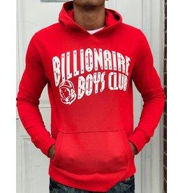 BILLIONAIRE BOYS CLUB RACING RED BB SPLIT ARCH HOODIE