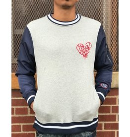 FLY SUPPLY TRAP LOVE BOMBER CREWNECK