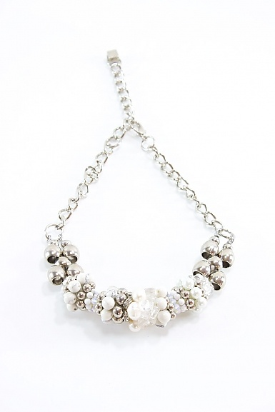 Pam Hiran Triple Cylinder Necklace