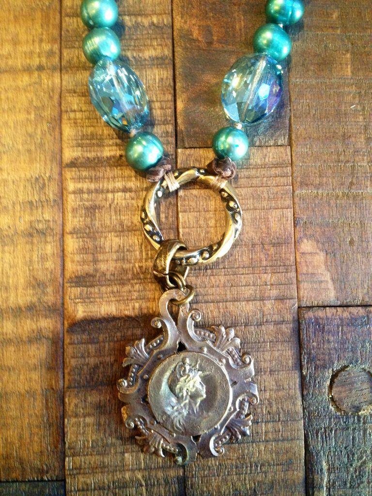 Turquiose Quartz Necklace