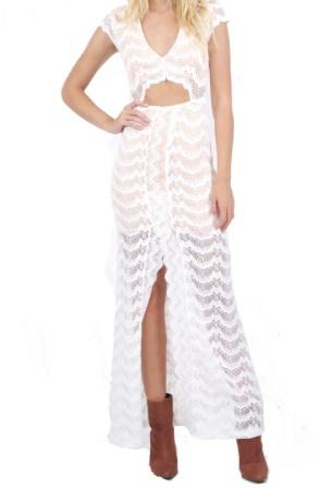 Nightcap Mariposa Cutout Maxi Dress