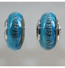 Marco Island Turquoise Wave Bead