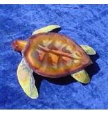 Copper Sea Turtle Lge 12X12
