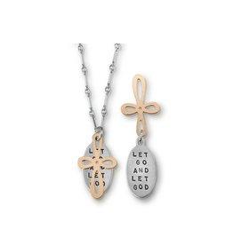 """Let Go & Let God 18"""" Necklace"""