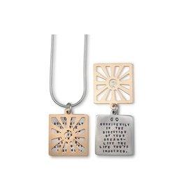 """Thoreau Sun 18"""" Necklace"""