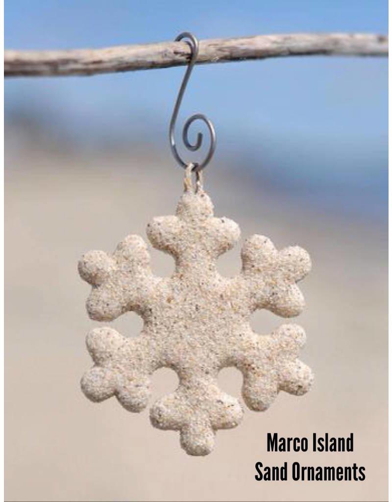 Marco Island Beachsand Ornaments