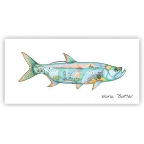 Tarpon Tribute 12X30 Canvas Giclee