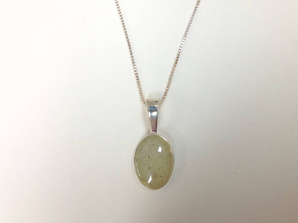 """Sandrop Necklace 18"""" SS"""