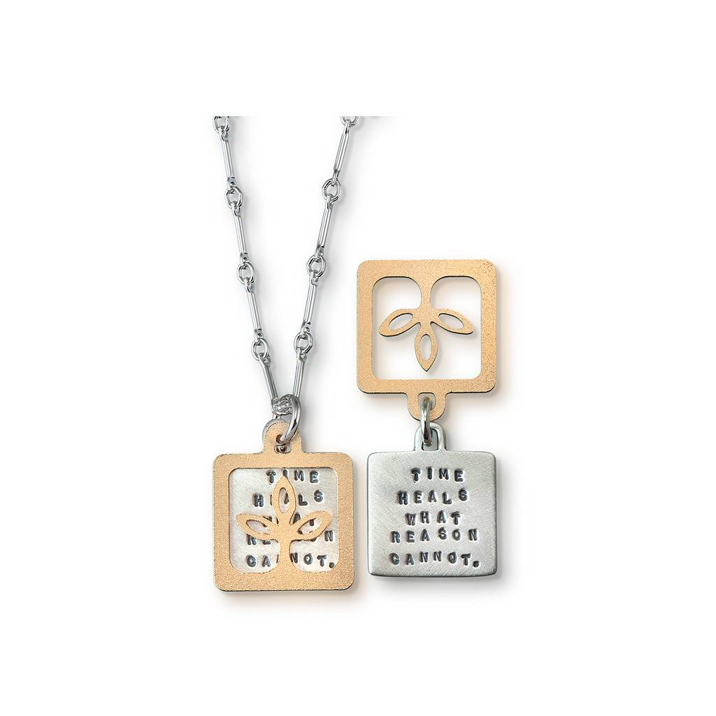 "Time Heals (Seneca) 18"" Necklace"