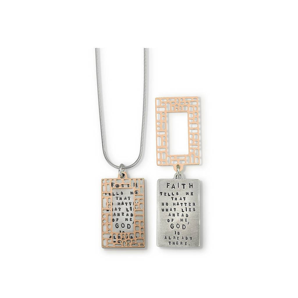 """God Is There 18"""" Necklace"""