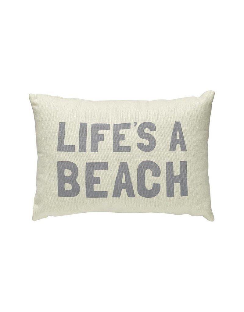 Life's A Beach Pillow Sm