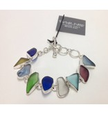 Beach Glass Bracelet by Charles Albert
