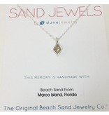 Sand Jewel Necklace Diamond 16-20""