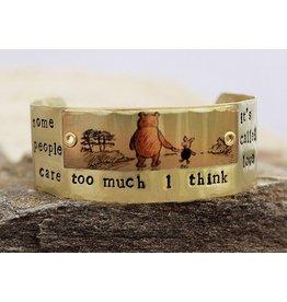 Winnie the Pooh Brass Cuff