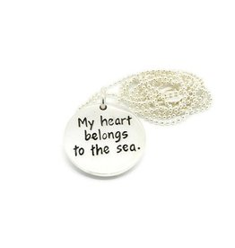 "My Heart Belongs to the Sea 18"" Necklace"