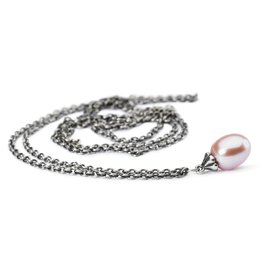 Fantasy Necklace with Rosa Pearl 35.4""