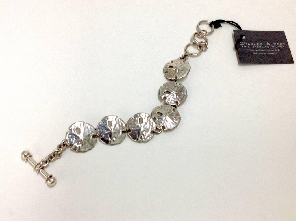Sand Dollar Bracelet by Charles Albert