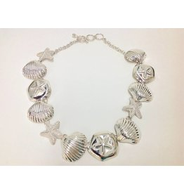 Sea Life Necklace by Charles Albert