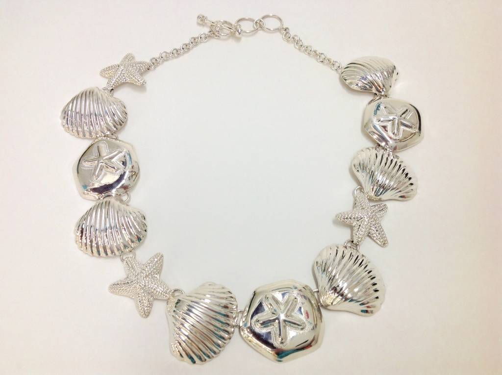 Sea Life Necklace by Charles Albert (Sterling Silver)