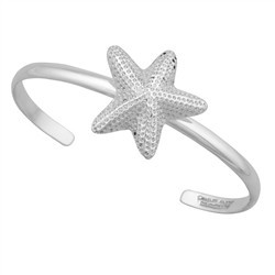 Starfish Mini Cuff by Charles Albert