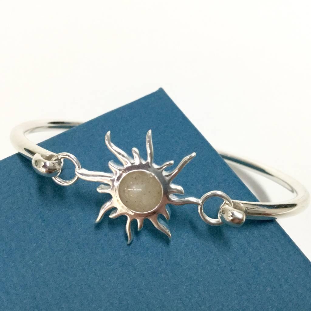Sunburst Bracelet w/ Marco Island Sand SS