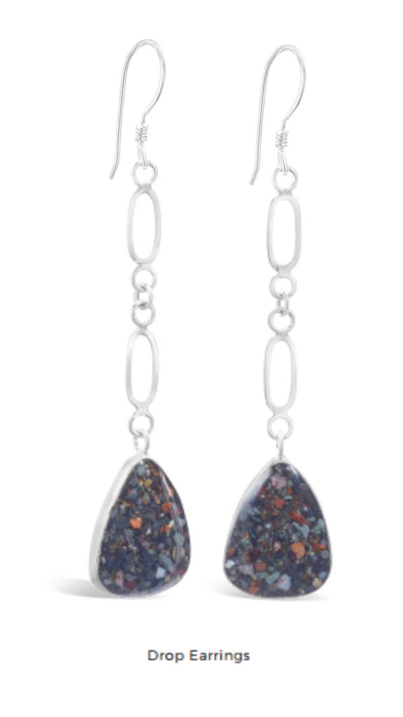 Marco Island Sand Drop Earrings SS