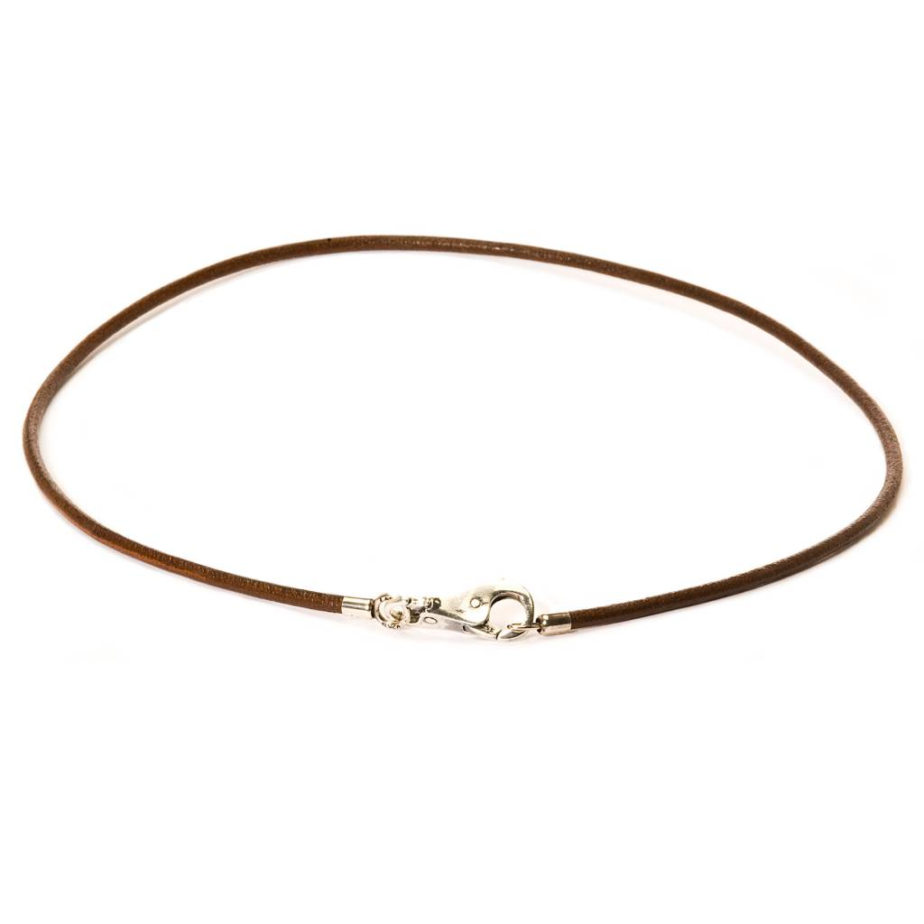 Leather Necklace (Purchase lock separately)