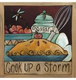 Sincerely Sticks 6x6 Plaque Sugie's Kitchen  SS