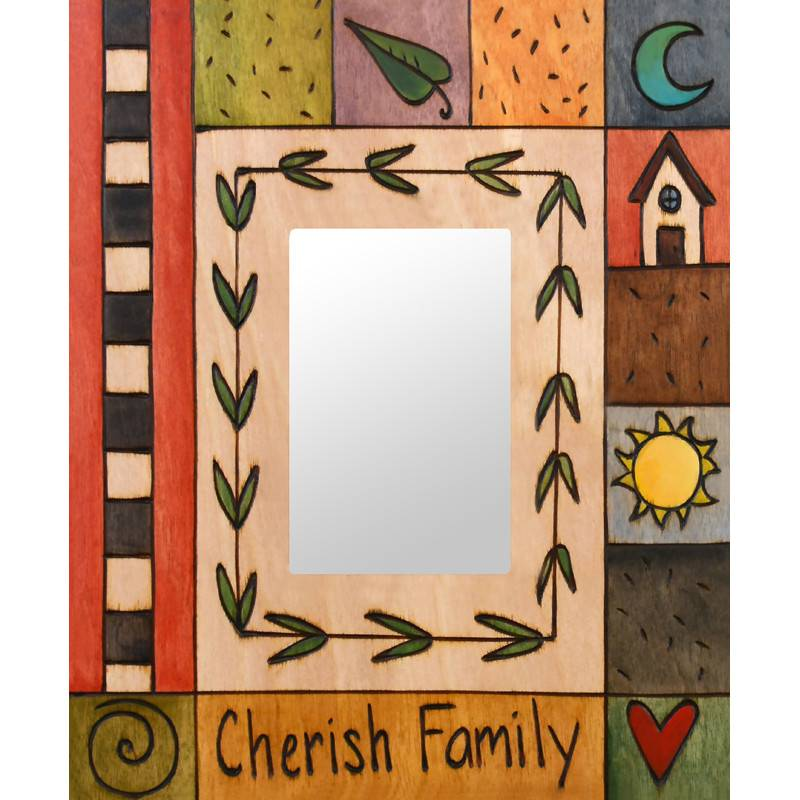 Sincerely Sticks 4x6 Frame Polly's Quilt  SS