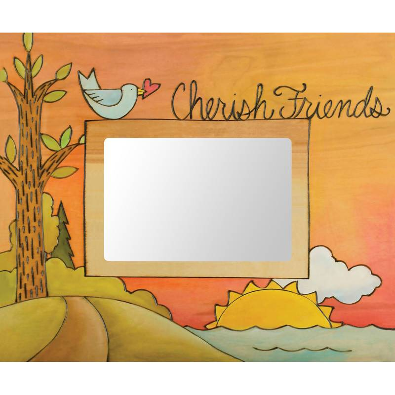 Sincerely Sticks 5x7 Frame Friends of a Feather Stick Together  SS