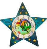 "Sincerely Sticks Clock Who Hung the Moon 13-16""(Star) SS"