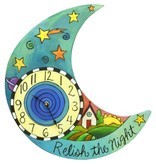 "Sincerely Sticks Clock After Midnight 13-16"" (Moon) SS"