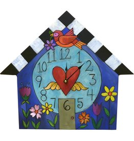 """Sincerely Sticks Clock A Little Birdie Told Me 13-16"""" (House) SS"""