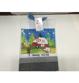 Lunar Designs 3 Dawg Nite Towel
