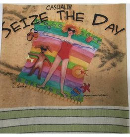 Lunar Designs Seize the Day Towel