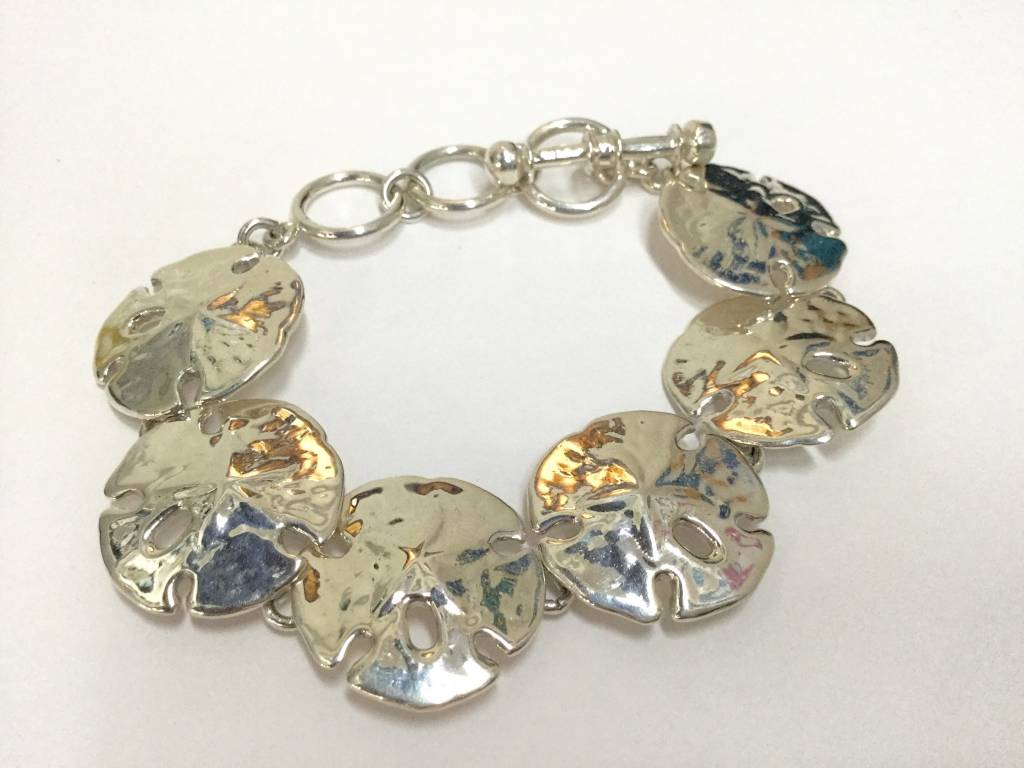 Sand Dollar Bracelet by Charles Albert
