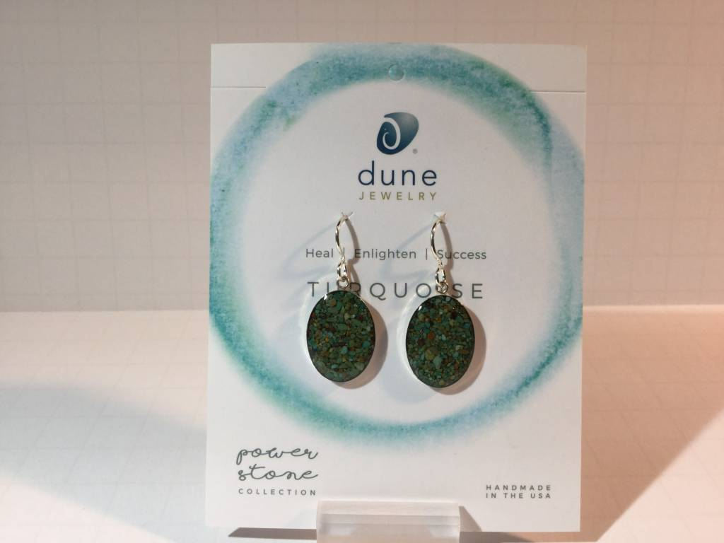 Turquoise Sandrop Earrings Large