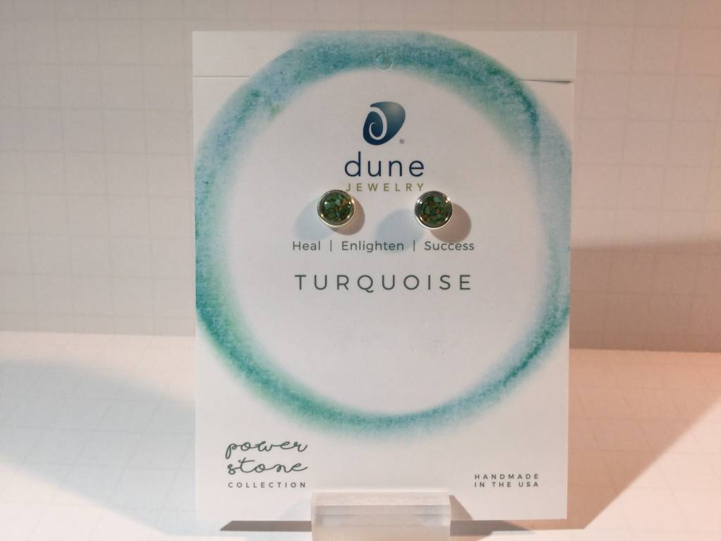Turquoise Dune Drop Posts