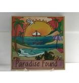 Sincerely Sticks 9x9 Plaque Paradise Found Marco Island SS (custom)