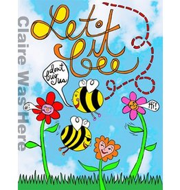 Claire was Here Let it BEE Towel T216