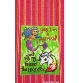 Claire was Here Mermaid Unicorn Towel T194