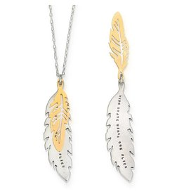 "Brave Wings 18"" Necklace"