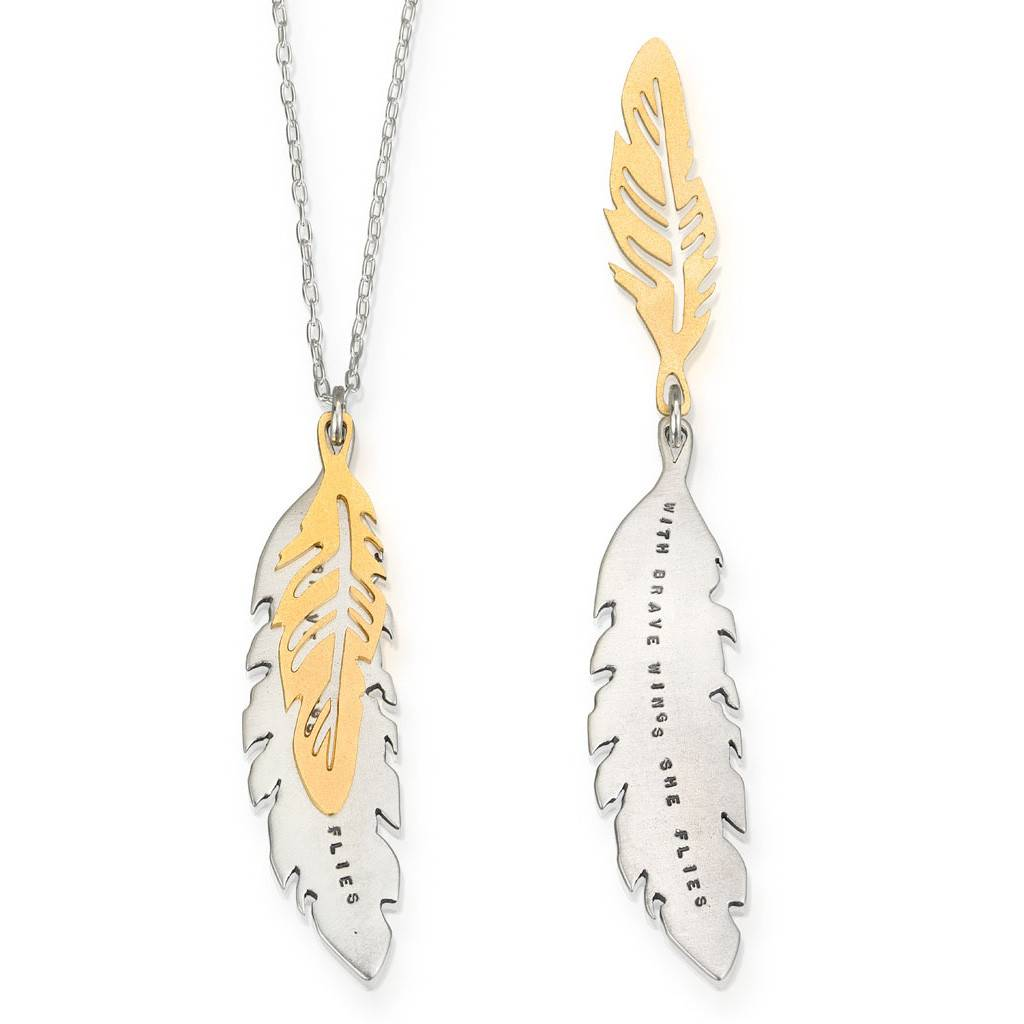 """Brave Wings 18"""" Necklace"""