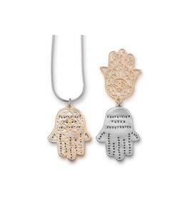 "Hamsa 20"" Ltd Rose Gold Necklace"
